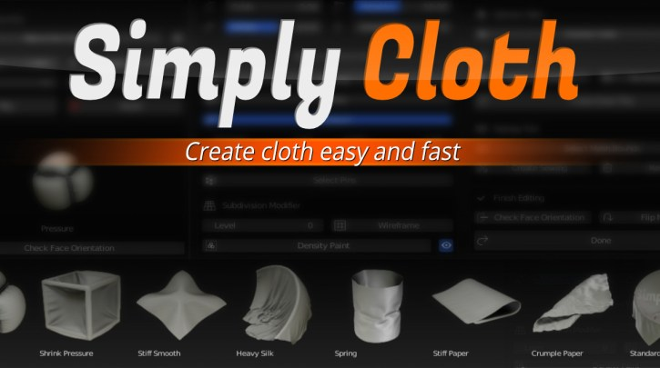 Blendermarket - Simply Cloth Pro