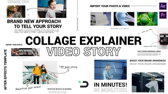 Collage Explainer Video Story