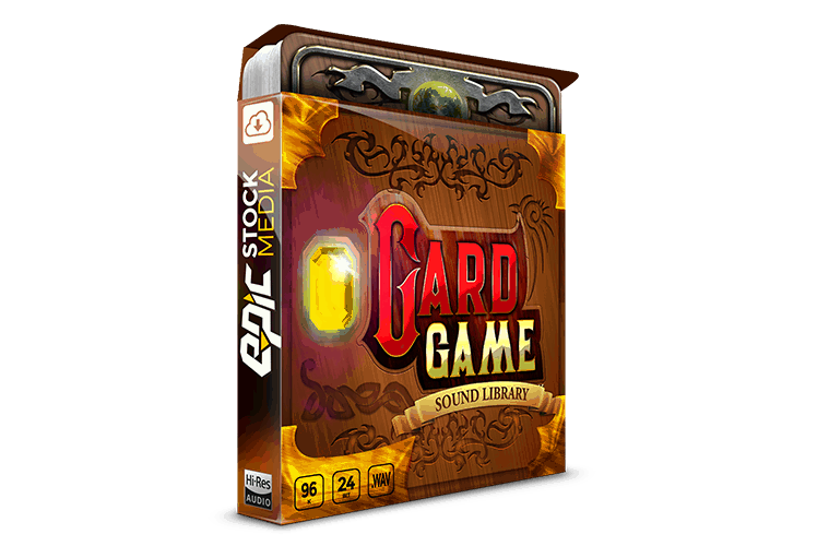 Epic Stock Media Card Game WAV