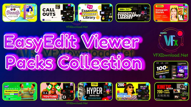 EasyEdit Viewer Packs Collection 2021 Updates