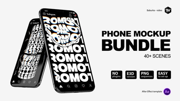 Phone Mockup Bundle V3
