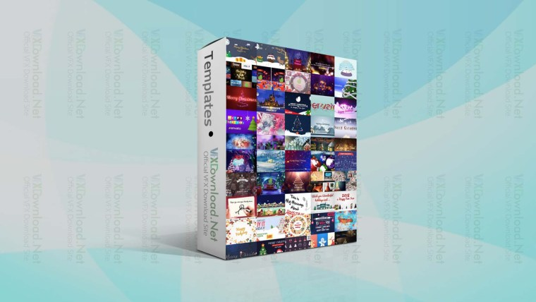 Videohive 320+ Christmas After Effects Project Collection 2020