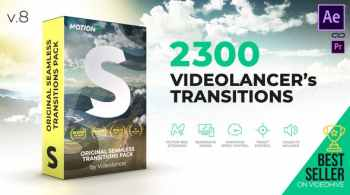 Videohive Videolancer's Transitions | Original Seamless Transitions Pack V8 18967340