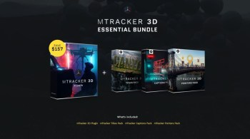MotionVFX – mTracker 3D ESSENTIAL BUNDLE