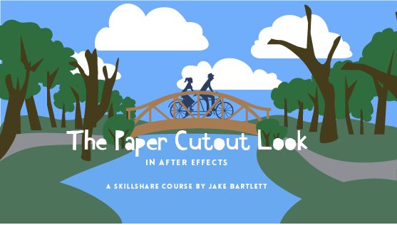 The Paper Cutout Look in After Effects By Jake Bartlet