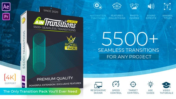 AinTransitions | Ultimate Multipurpose Transitions Pack
