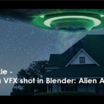 CGCookie - Create a VFX shot in Blender: Alien Abduction