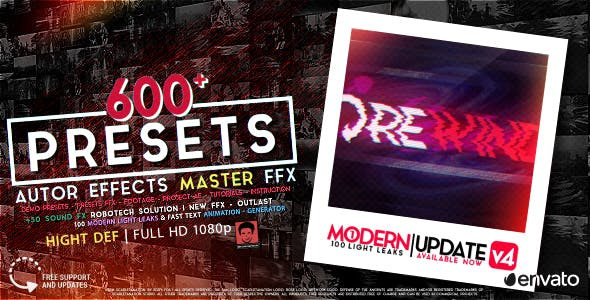 Videohive AUTHOR Effects Master FFX 15688723