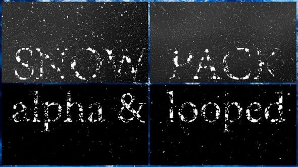 VideoHive Snow Pack 29448777