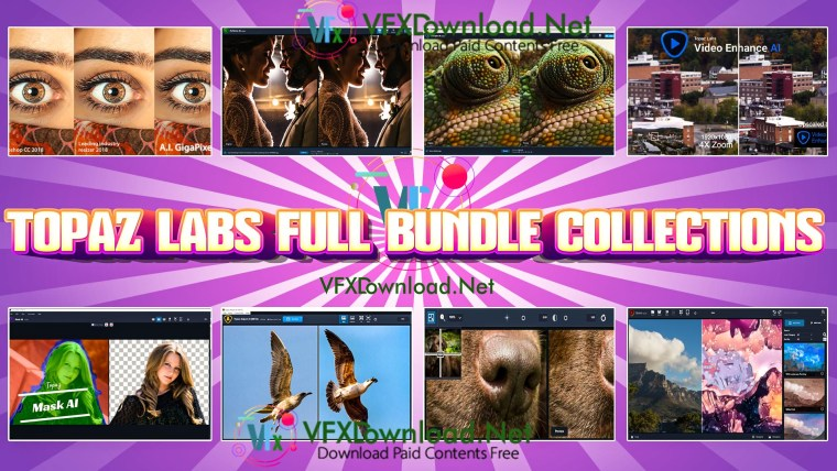Topaz Labs Full Bundle Collections