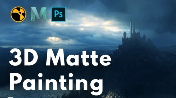 Learn Squared - 3D Matte Painting with Steven Cormann
