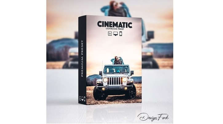 GraphicRiver Cinematic FX Lightroom Preset 30121542