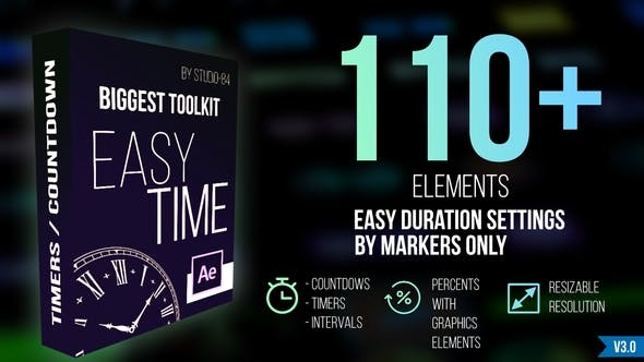 "Countdown Timer toolkit ""Easy Time"""