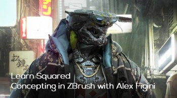 Concepting in ZBrush with Alex Figini