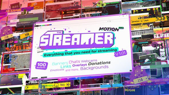 The Streamer | Everything for Web Twitch Youtube Live
