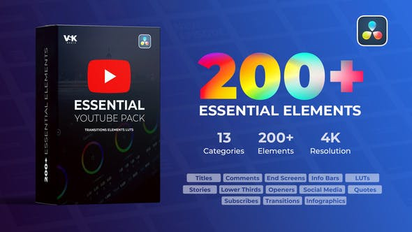 Videohive Youtube Essential Pack 30928023