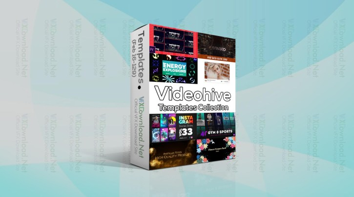 Videohive Templates Collection (16 to 23 February 2021)