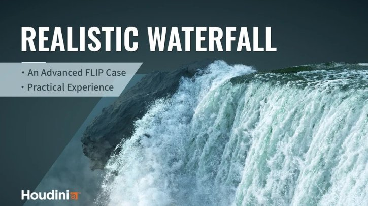 Gumroad - Houdini Waterfall Tutorial By VFX Grace