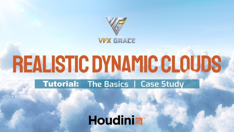 Gumroad - Houdini Tutorial | Realistic Dynamic Clouds By VFX Grace