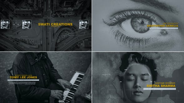 Videohive Movie Credits 31109392