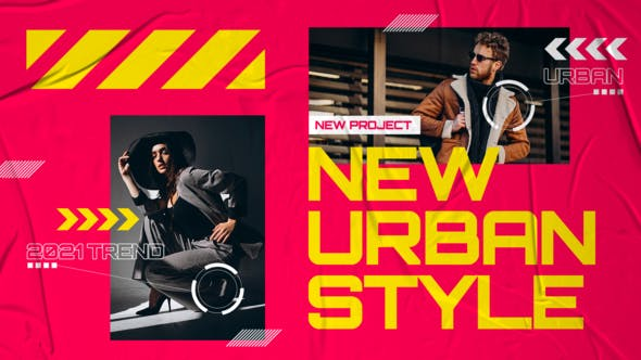 Videohive Creative Colorful Urban Fashion 31105764