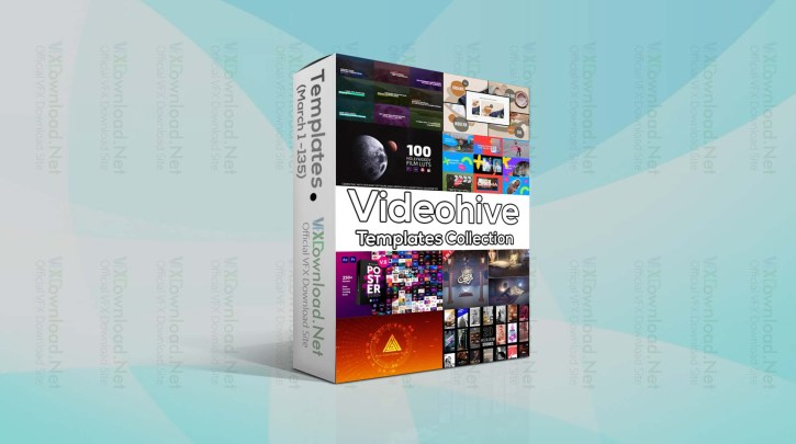 Videohive Templates Collection (1 to 7 April 2021