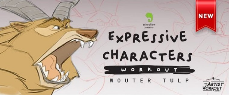 Schoolism - Expressive Characters Workout with Wouter Tulp
