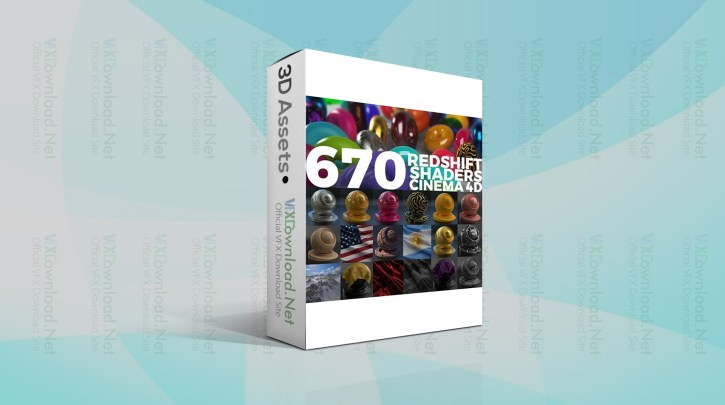 Gumroad - 670 Redshift Shaders Cinema 4D By SerSal