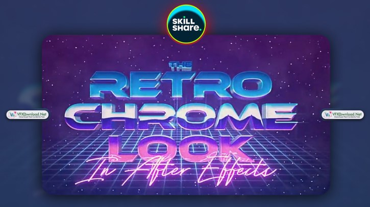 The Retro Chrome Look in After Effects By Jake Bartlett