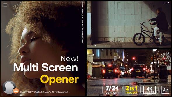 Videohive Multi Screen Opener 31144549