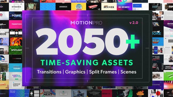 Videohive Motion Pro | All-In-One Premiere Kit v2.0 26504964