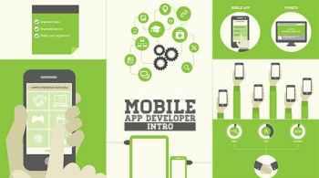 Videohive Mobile App Developer Intro 7910442