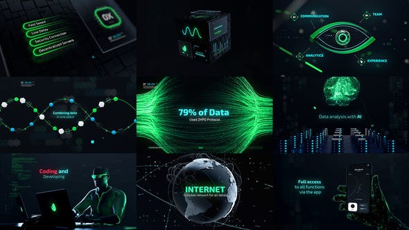 Videohive Cyber Technology Trailer 31019182
