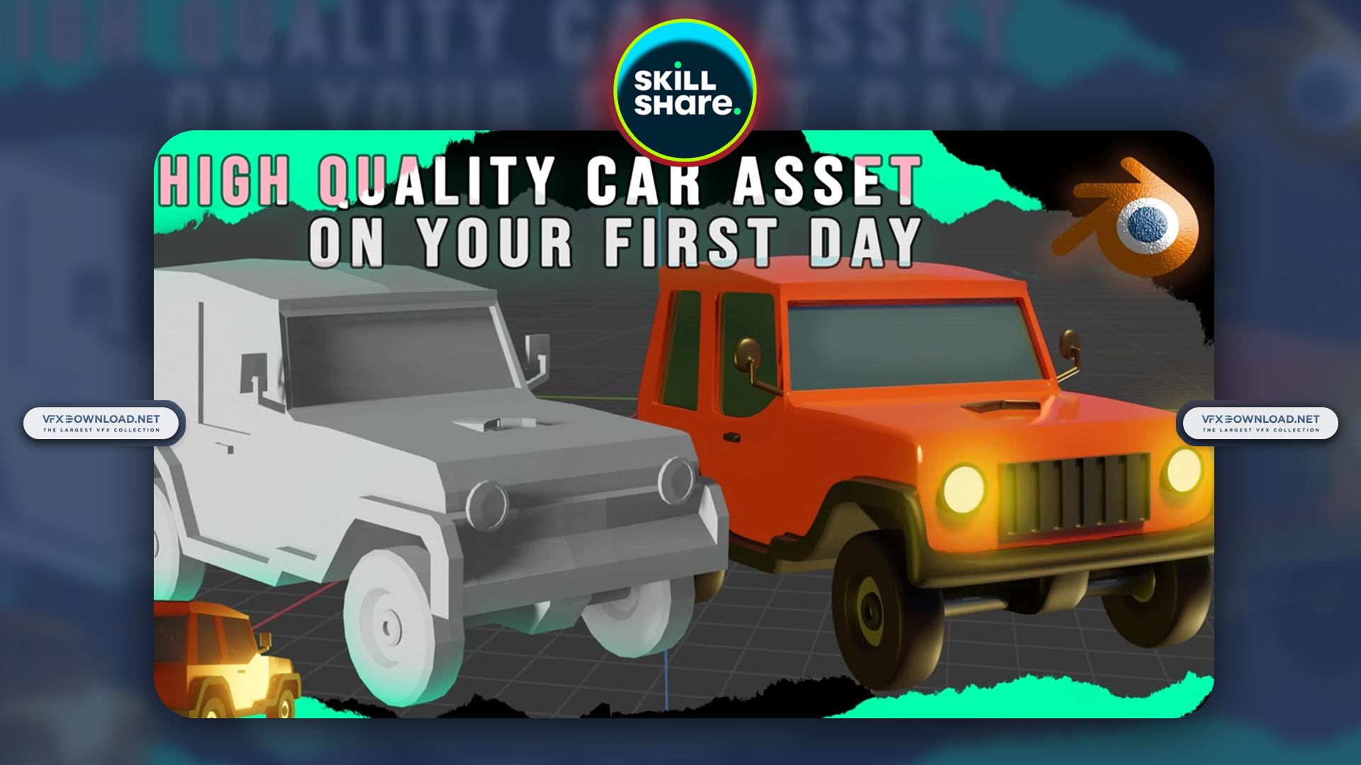 Create a Realistic 3D Car Model on your First Day in Blender By Auripher