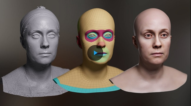 The Gnomon Workshop – Creating Digital Doubles With Single-Camera Photogrammetry