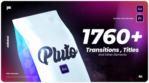 Videohive Transitions and Titles For After Effects 33048972