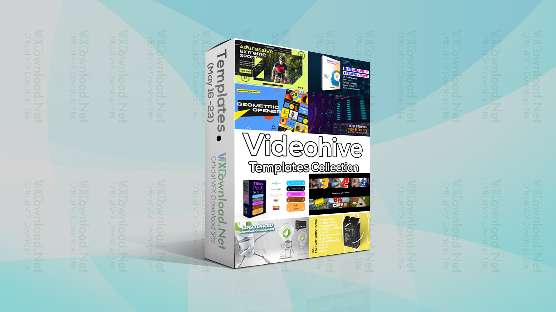 Videohive Templates Collection (16 to 23 May 2021)