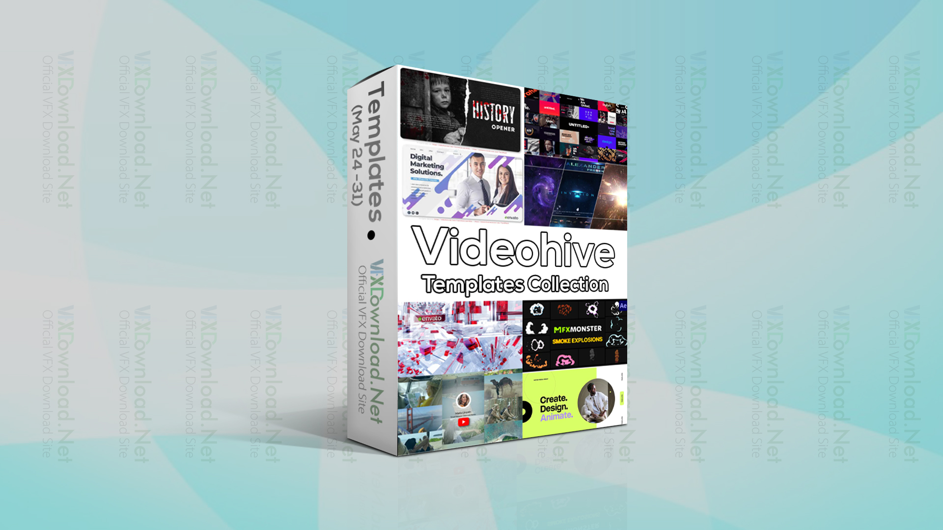 Videohive Templates Collection (24 to 31 May 2021)