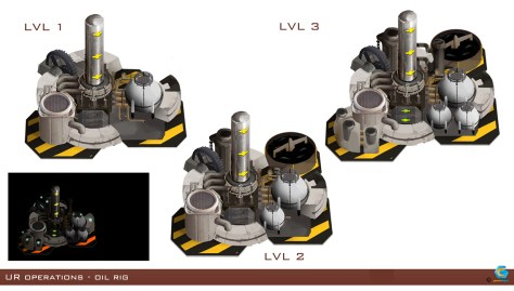 RTS concept - low poly foundry