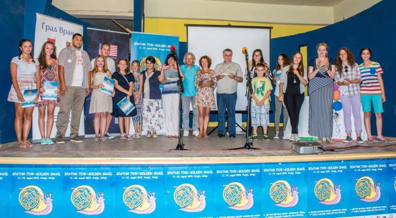 Dobitnici nagrada na festivalu Zlatni puz 2015