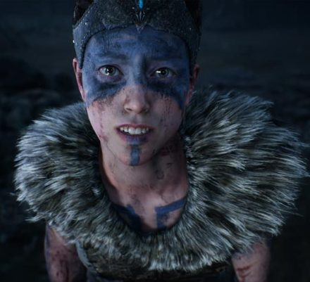 A still from Ninja Theory's upcoming Hellblade: Senua's Sacrifice video game.