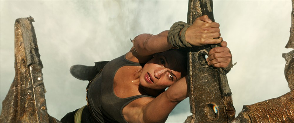 Tomb Raider Transforming The Waterfall Scene With Frame By Frame