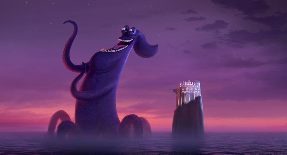 Hotel Transylvania 3 The Making Of A Giant Singing Kraken Vfx Voice Magazinevfx Voice Magazine