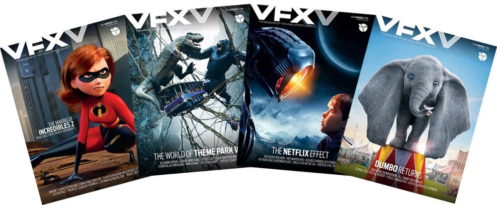 Subscriptions & Single Issues - VFX Voice MagazineVFX Voice Magazine