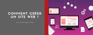 Comment créer un site web - VG Coaching