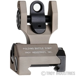 Troy BattleSight Rear Folding FDE