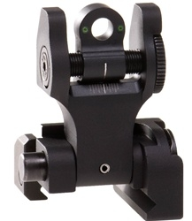 Troy BattleSight Rear Folding TRITIUM - Black