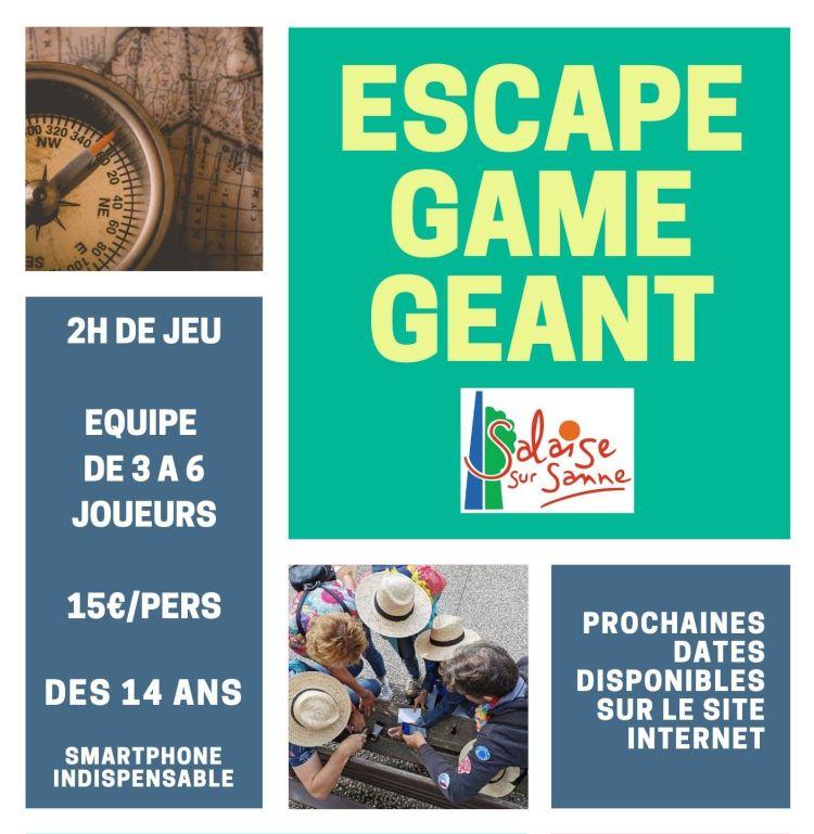 Escape game géant Salaise Sur Sanne VGB EVENT