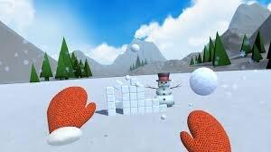 snow fortracess bataille de boule de neige merry snowball jeu réalité virtuelle VR VGB EVENT Lyon Rhône-Alpes Paris France teambuilding seminaire anniversaire