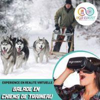 balade en chiens de traineau expériences en réalité virtuelle VGB EVENT Lyon Rhone alpes France
